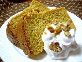 全粒粉100%&きび砂糖の健康シフォンケーキ