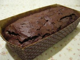 プルーンのチョコレートケーキ