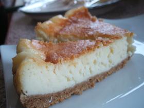 イギリス男でも作れるチーズケーキ