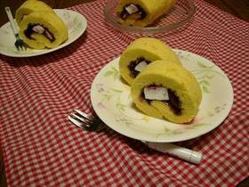 ♥トースター♪ジャムロールケーキ♥