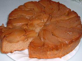香ばしい!りんごのきなこケーキ