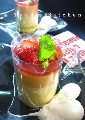 チェリー★チョコレート&トマトのムース