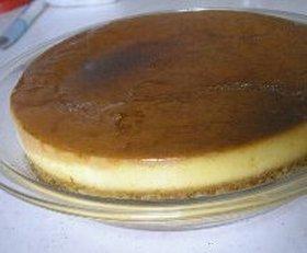 2層でびっくり☆紅茶のプリンケーキ