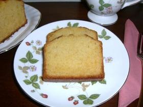 和三盆糖と発酵バターのパウンドケーキ