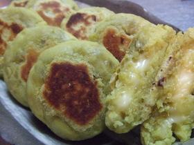 ☆さつま芋餅☆チーズ入り♪