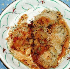 香み鶏のパン粉焼き