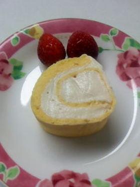 ダブル大豆のロールケーキ