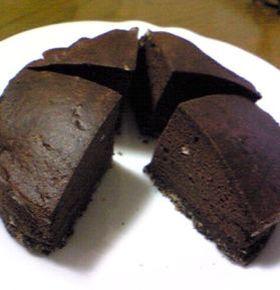 絶!きなこチョコケーキ(糖質5.5g+)