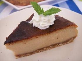 ロイヤルなミルクティー風味チーズケーキ