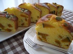 南瓜だらけ♥♡パウンドケーキ