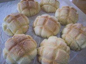 自家製酵母のメロンパン