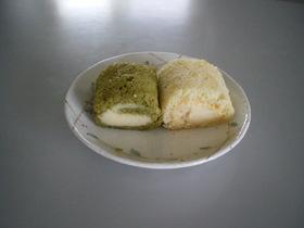 卵1個 ロールケーキ