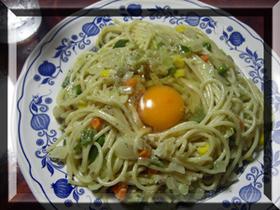 野菜カルボナーラ。.:*♪