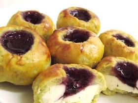 ブルーベリーチーズの絶品スイートポテト