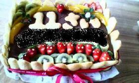 簡単♪強力粉でチョコケーキ