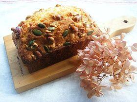 木の実のパウンドケーキ*
