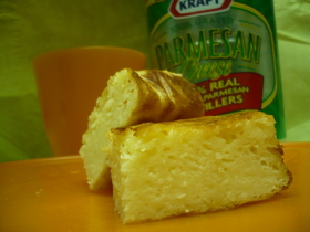 粉チーズ☆ヨーグルトで濃厚チーズケーキ♪