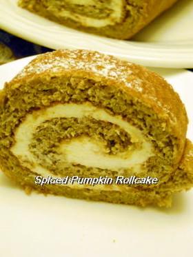 パンプキンスパイスロールケーキ