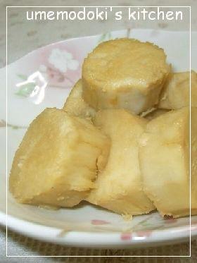 ホックホク~♪ 竹の子芋の甘辛煮