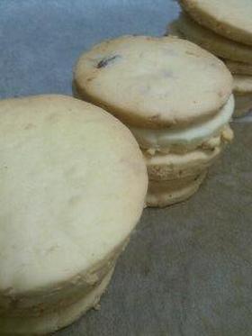 ココナッツとクランベリーのクッキー