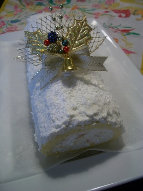 トロピカルクリスマスケーキ