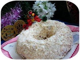 ☆クリスマスの天使の白いケーキ☆