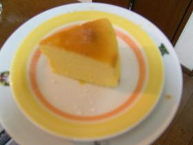 しっとりしゅわふわスフレチーズケーキ