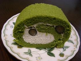 ♡黒豆抹茶ロールケーキ♡