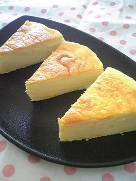 気軽にスフレチーズケーキ