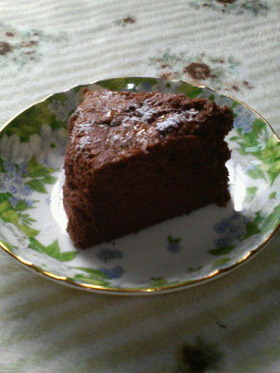 しゅわっと軽い★チョコレートケーキ