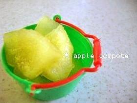 レンジで簡単✿林檎コンポート
