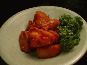 韓国料理です。「タットリタン」