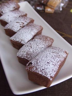 砂糖不使用♦ラムレーズンチョコケーキ