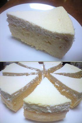 ヘルシー お豆腐のチーズケーキ
