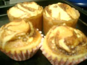 簡単カップケーキ★ホットケーキの粉30分