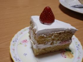 卵&乳不使用のスポンジケーキ