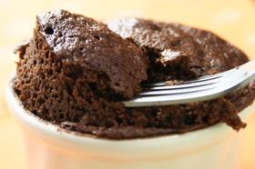 大豆粉のココアカップケーキ