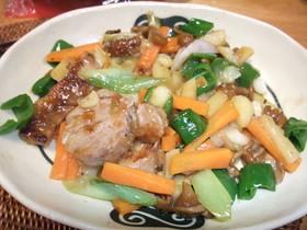 ご飯が進む 豚肉と野菜のバター本つゆ炒め