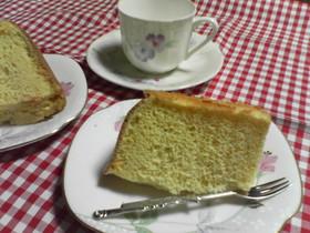 ノンオイル☆私の基本シフォンケーキ