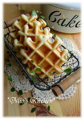バター不使用✿私の簡単ワッフル