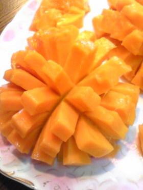 レストラン風♪マンゴーの切り方