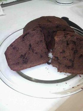 HB ホットケーキミックスでチョコケーキ