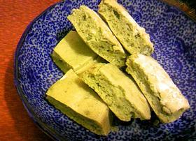 低カロリー!豆乳青汁スポンジケーキ