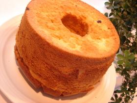 ヨーグルト&ブルーベリーのシフォンケーキ