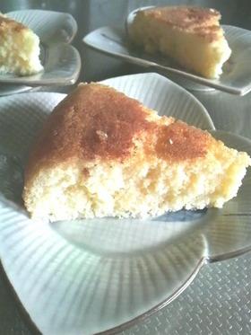 ワンコ食~炊飯器でスポンジケーキ