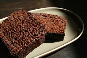 しっとり★プルーンチョコレートケーキ