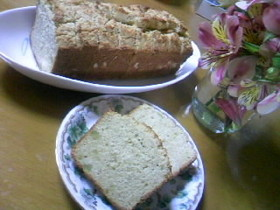 米粉とおからのスウィートポテトケーキ