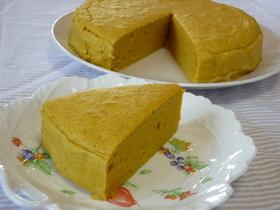 ノンオイル☆南瓜とさつま芋の豆腐スフレ