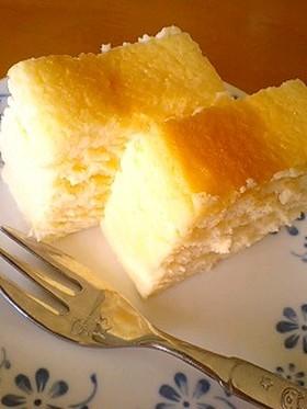 危険な*スフレチーズケーキ