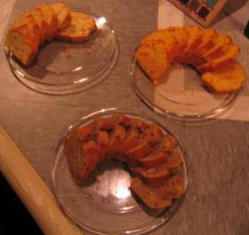 3種類のパウンドケーキ
